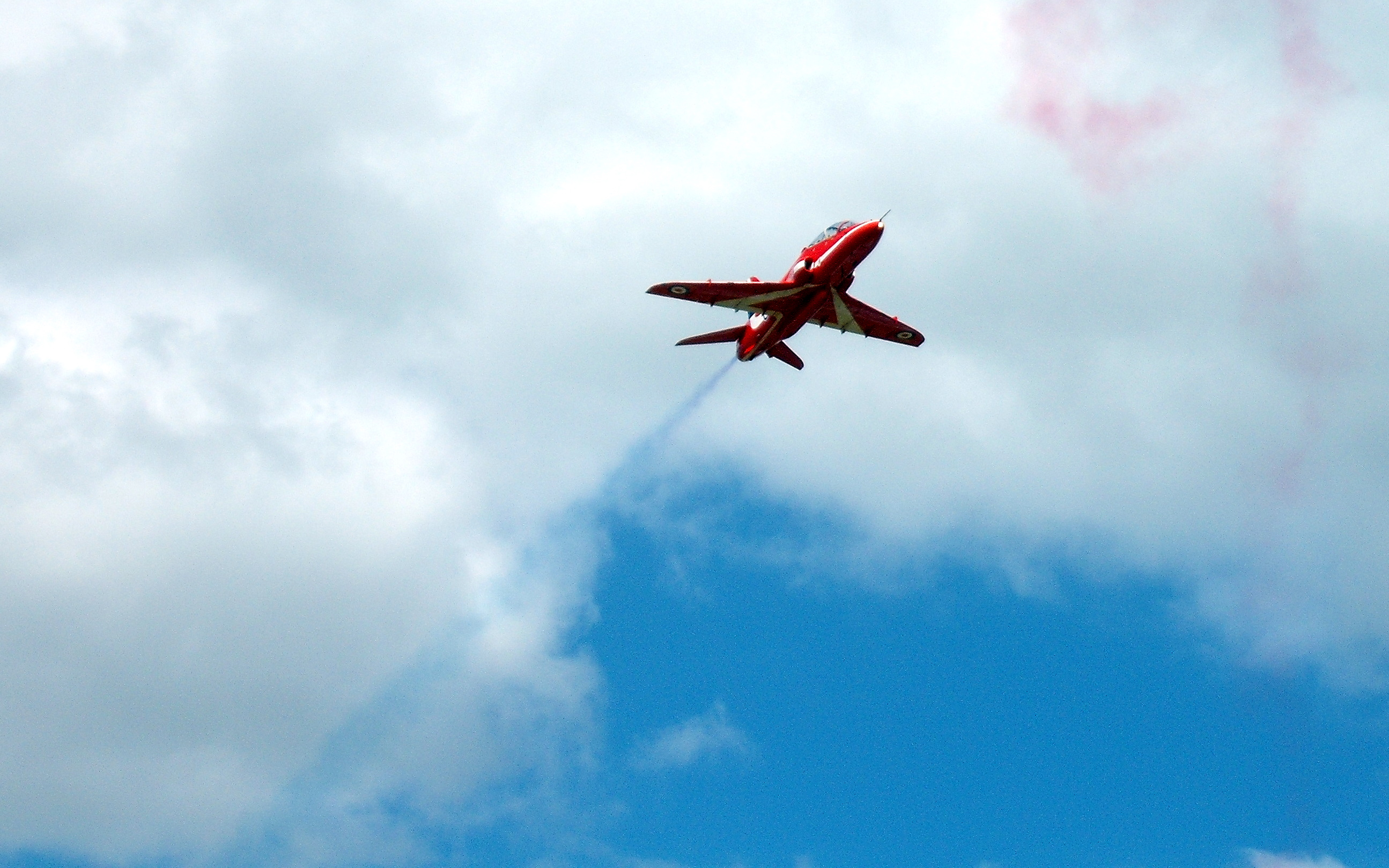 A Picture of a Red Arrow