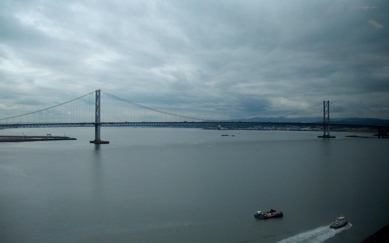 Bridges. Now overcast; dull.