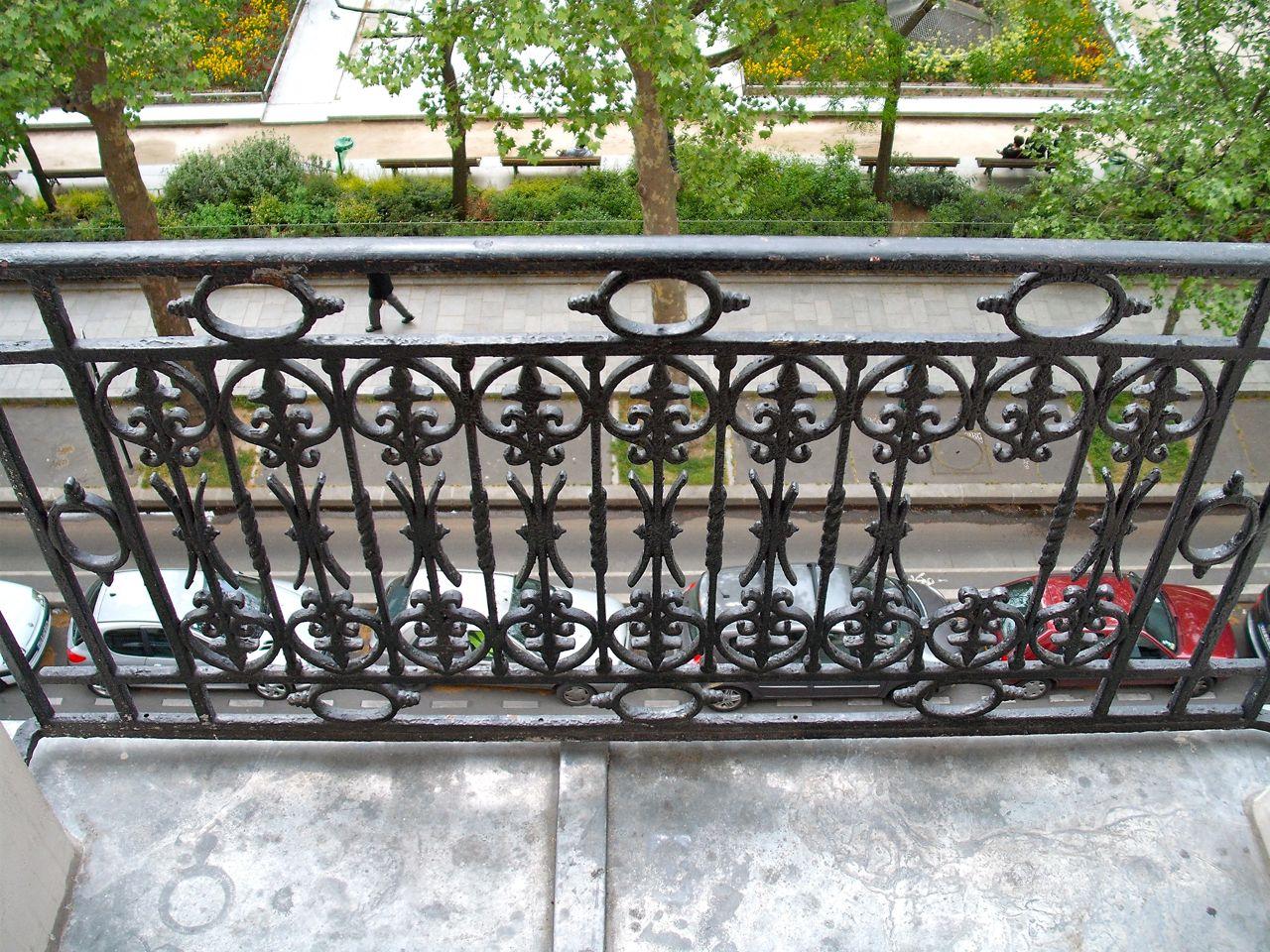 Depth of Balcony