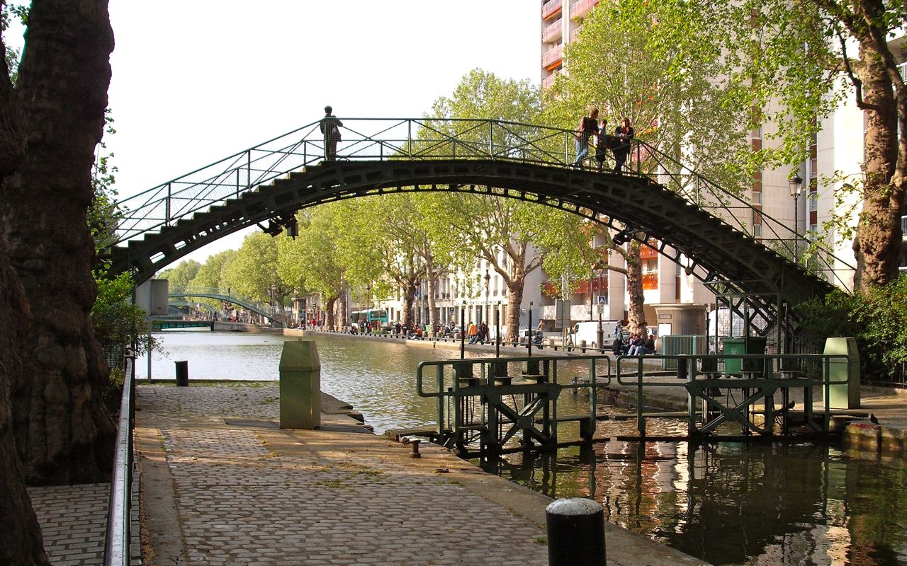 The canal up the street 2