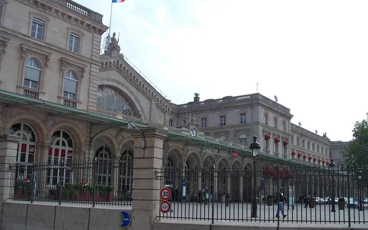 The front of Gare de L'Est