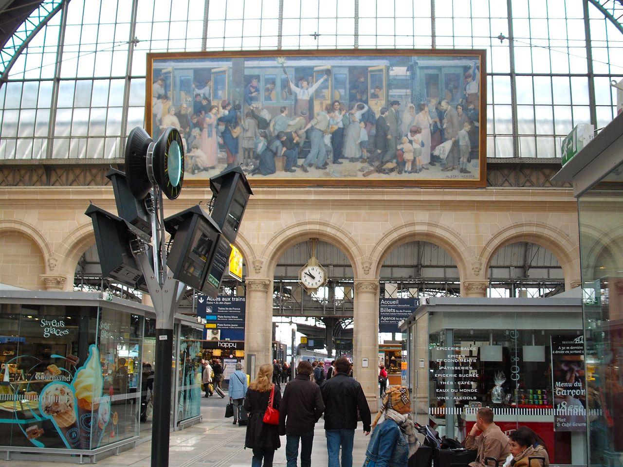 In Gare de L'Est