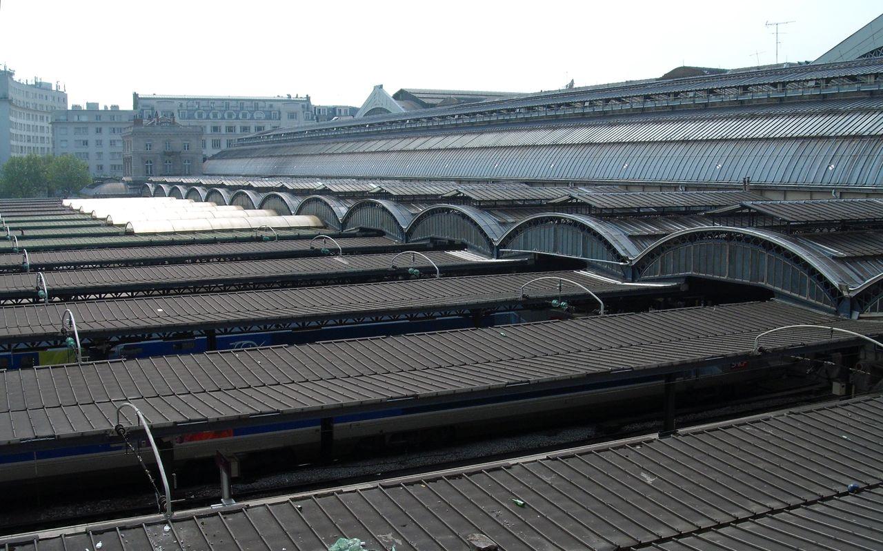 Platforms at Gare de L'Est