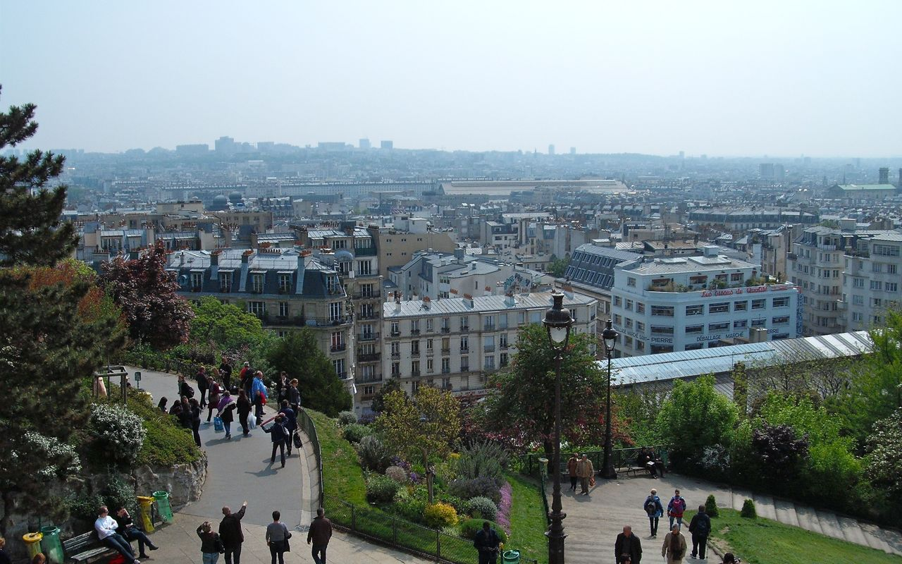 View from the Sacré-Coeur