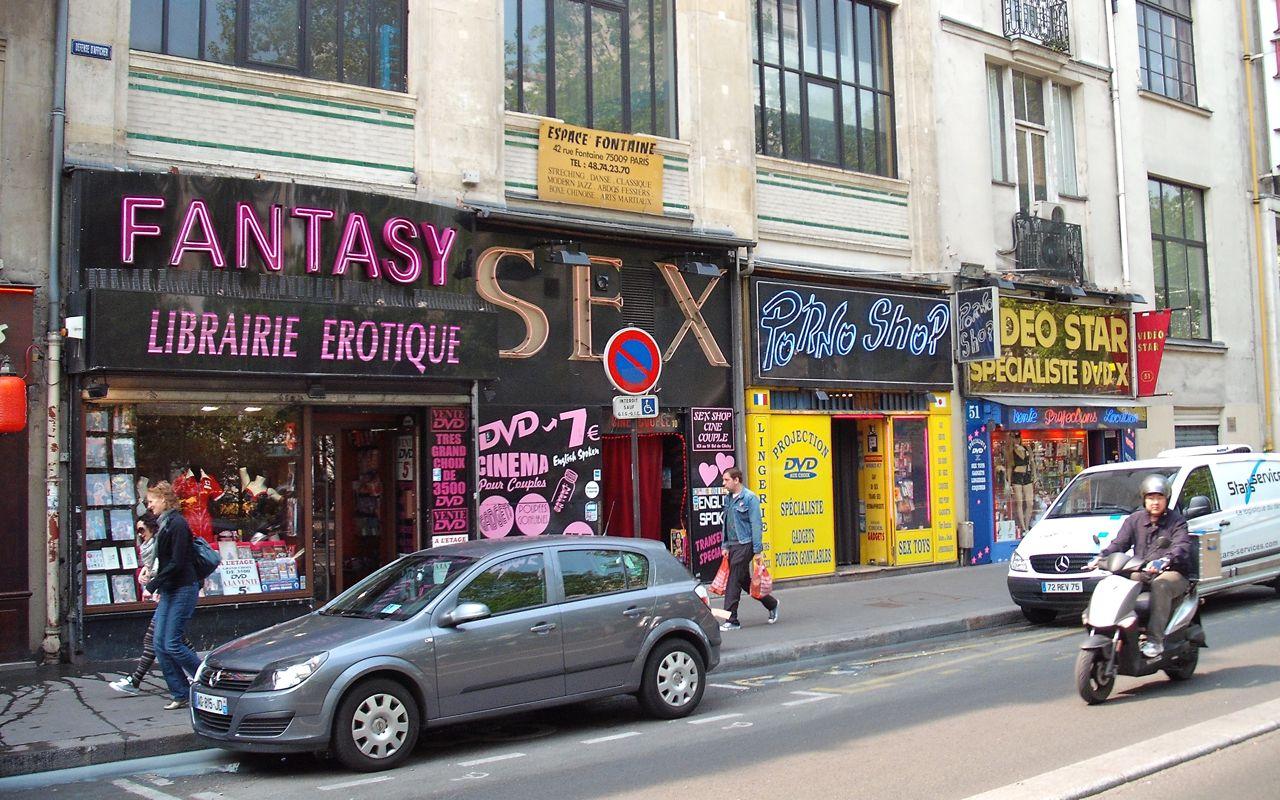 SEX and Porno Store (Literally)