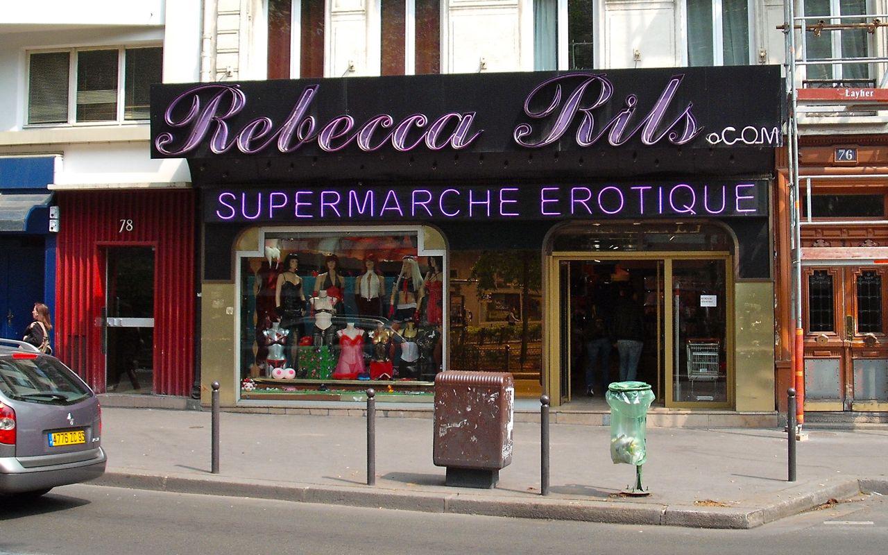 Supermarché Erotique