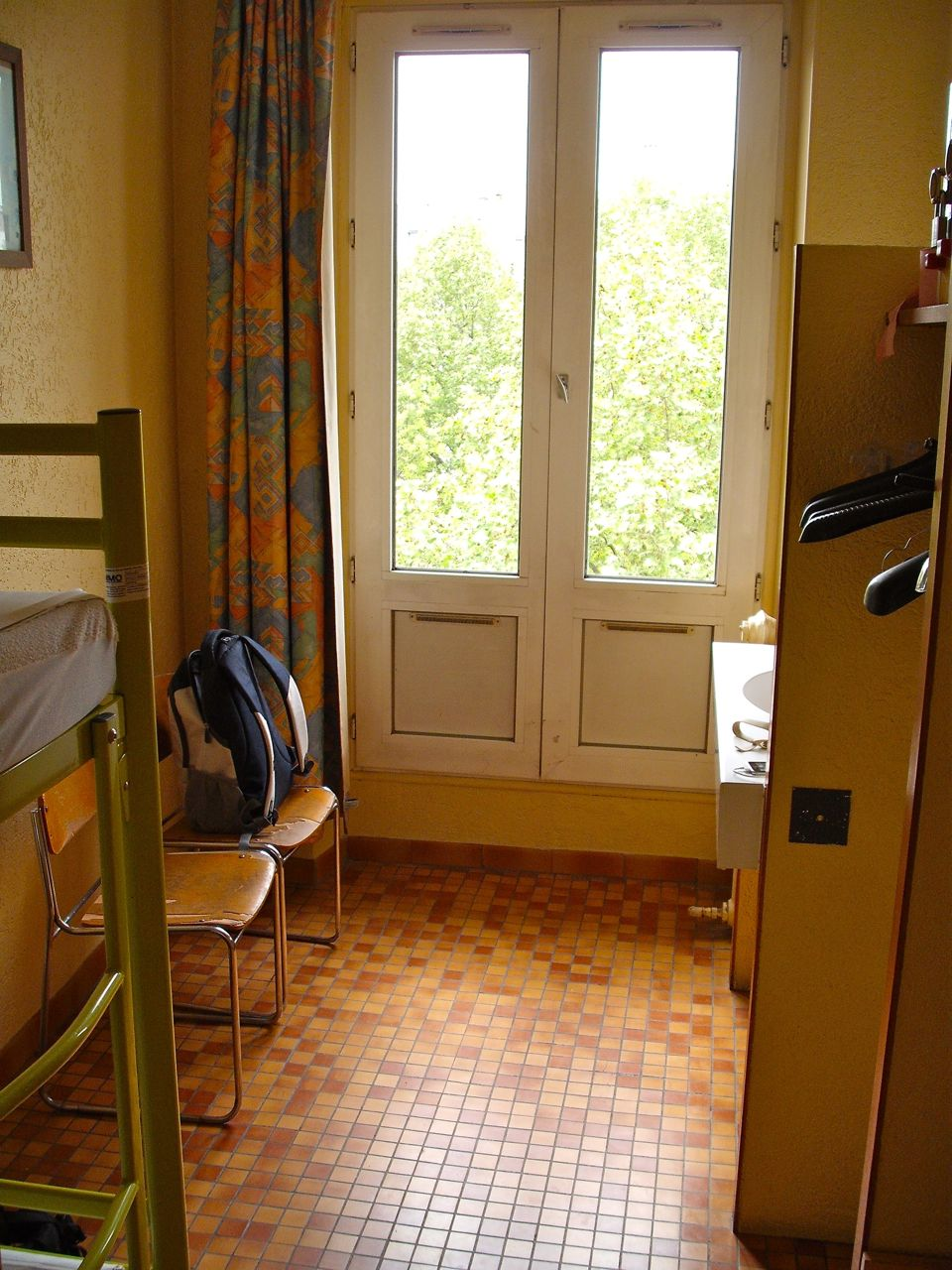 French windows in France