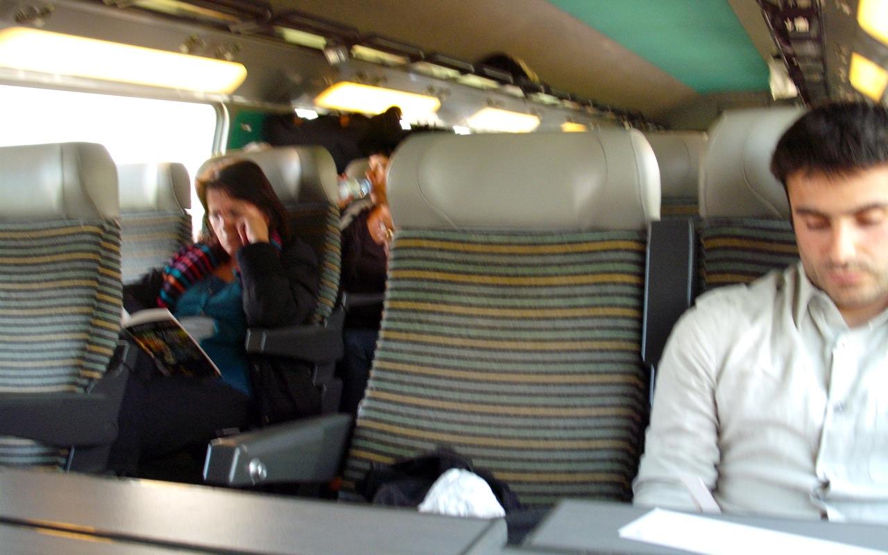 TGV Duplex interior