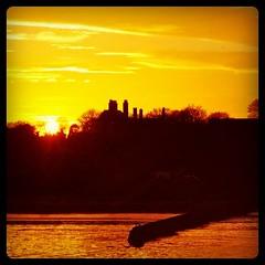 Warm February Sunset