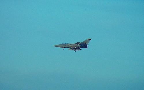 Tornado F3 Landing at RAF Leuchars