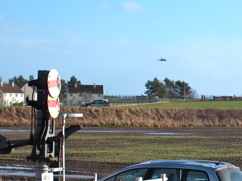 Tornado Flying Low from Leuchars