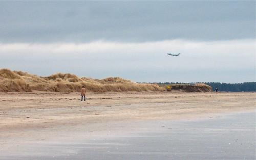 Sentinel R1 approaching RAF Leuchars