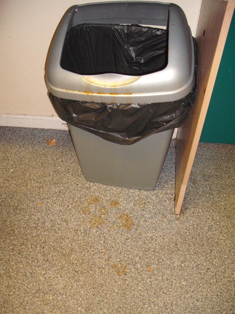 The dirty bin
