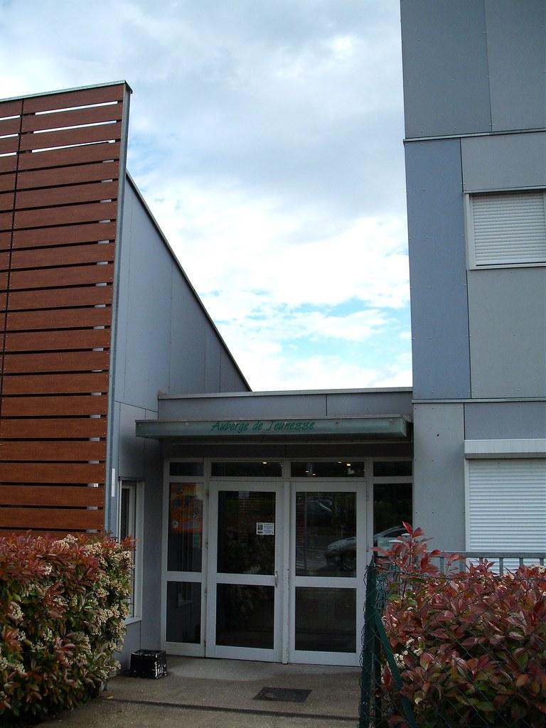 Hostel front door