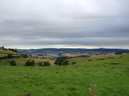 Carse of Gowrie in Distance