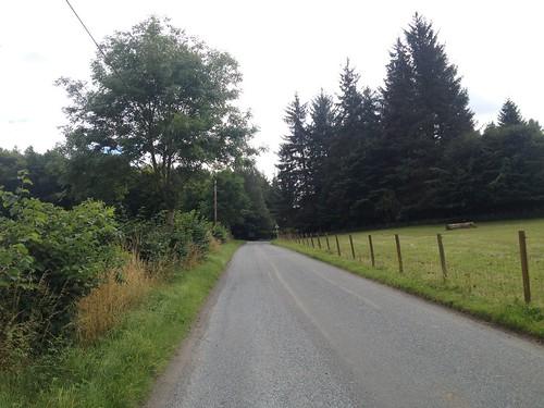 Climbing Kinnoull Hill