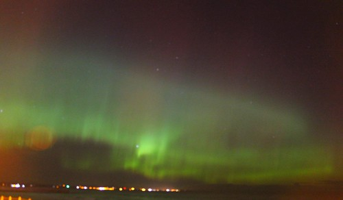 Northern lights from my window.